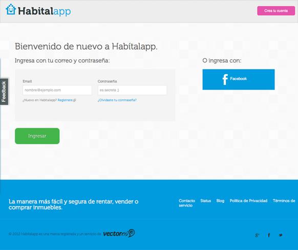 Iniciar sesión | Habítalapp (20130605)