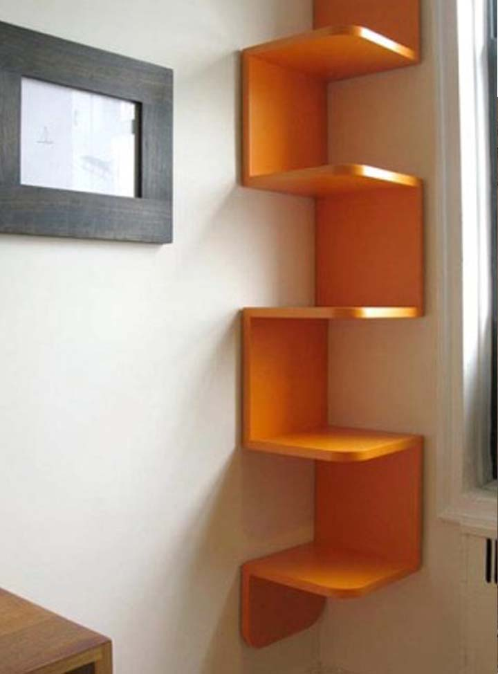 Decorar tu hogar con libreros divertidos y originales - Estantes de pared originales ...