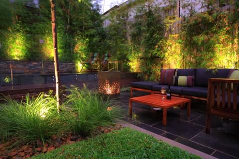 Decorar tu jard n con luz hab talapp - Iluminacion jardin sin cables ...