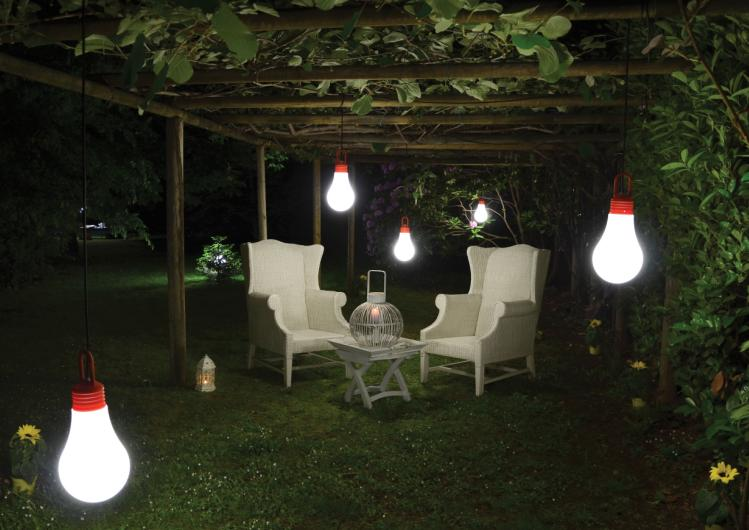 Decorar tu jard n con luz hab talapp for Lamparas led para jardin