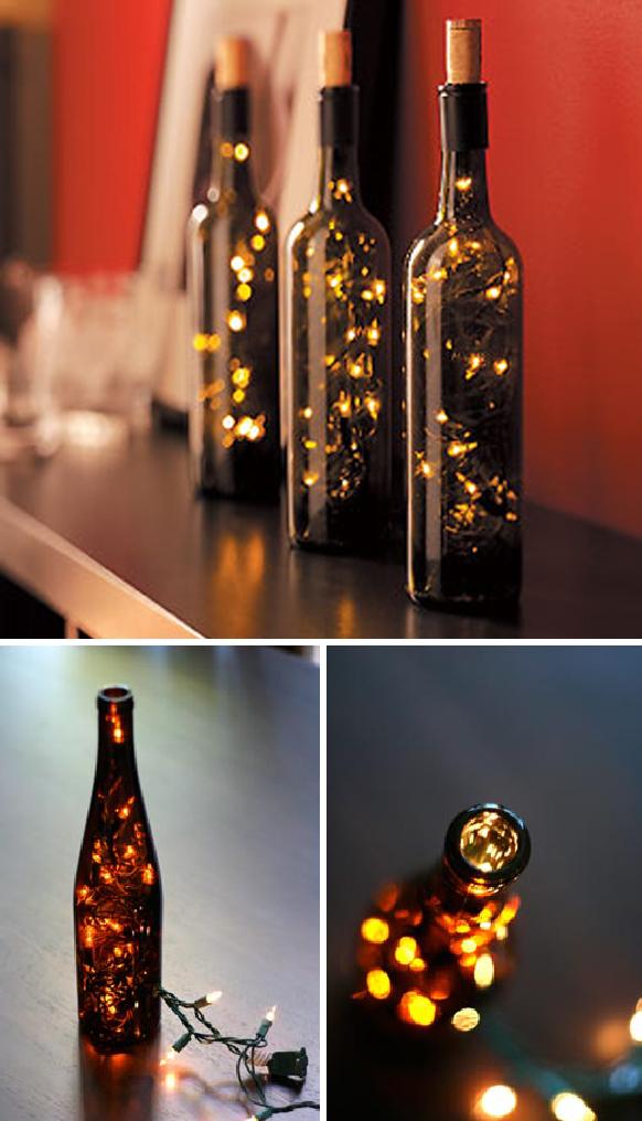 Como hacer una lampara con una botella de vidrio taringa - Como hacer lamparas con botellas de vidrio ...