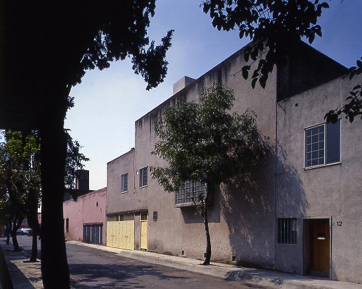 Fachada Casa Luis Barragan