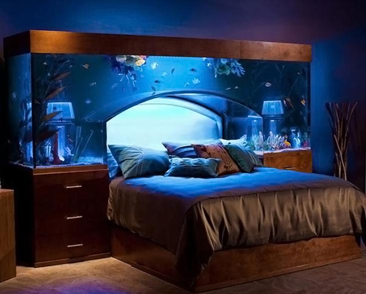 idea de cama acuario