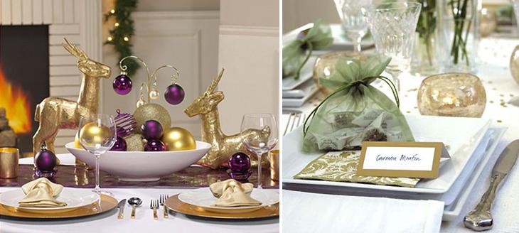 Navidad con elementos sofisticados