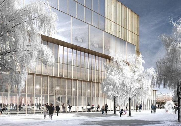 Exterior del Centro Nobel en Estocolmo será diseñado por David Chipperfield