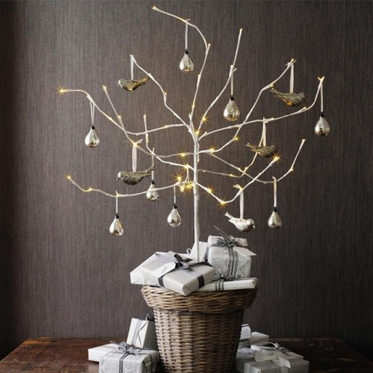 Ideas Para Decorar Con Ramas En Navidad Habitala - Ramas-de-arboles-para-decoracion